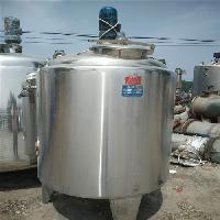 不锈钢搅拌罐 二手1立方不锈钢搅拌罐厂家出售