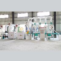 玉米拉糁磨面机成套设备投资多少钱
