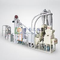 出口型玉米粉加工成套设备 玉米面加工机械