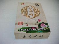 安化黑茶功效湘莲健荷香茯砖金花茶1000克/盒