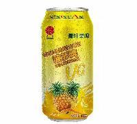 菠萝啤酒代理商,供应易拉罐菠萝啤