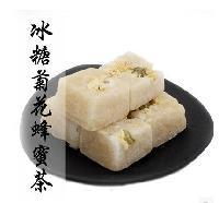 冰糖蜂蜜菊花茶生产厂家冰糖菊花茶散装批发冰糖菊花茶的功效