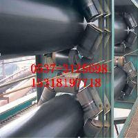 圆管带状皮带输送机 矿石圆管回程输送机y0
