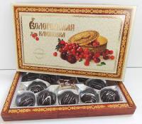 俄罗斯Vologda`s Cranberry蔓越莓夹心巧克力 250g/盒