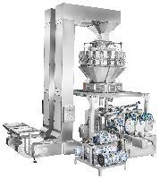 全自动给袋式真空包装机给袋式包装机自动称重自动下料