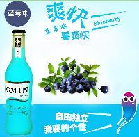 供应干玛提尼白兰地蓝莓味 预调鸡尾酒