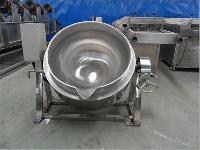 厂家直销可倾搅拌熬糖阿胶不锈钢夹层锅
