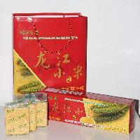 龙江小米 条形礼盒 龙江留香小米 厂家直销