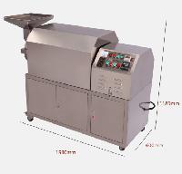 大型商用不锈钢滚筒食品药材炒货机厂家