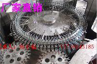 自动冲洗、灌装、旋盖三合一瓶装水灌装机