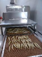 凤尾鱼膨化机鱼仔烘烤膨化机