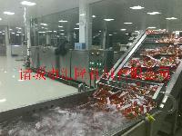 胡萝卜气泡高压水喷淋组合清洗机生产厂家