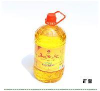 厂家直销山沟沟5L浓香花生调和油/餐饮食堂专用油