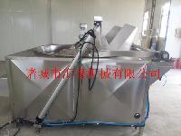 油水混合油炸锅,全自动不锈钢油炸锅,燃气自动搅拌油炸锅
