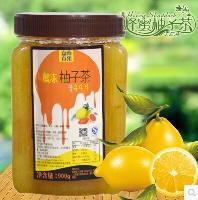 供应柚子茶果浆、柚子茶原料批发