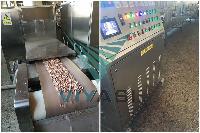 隧道式花生烘烤炉微波花生烘烤机