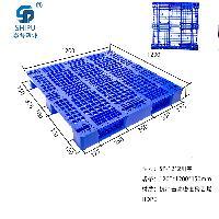 厂家直销1212加厚优质塑料托盘川字型托盘 专业生产塑料叉车托盘