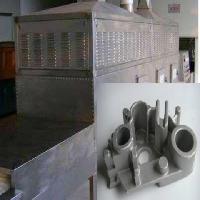 缸体缸盖铸造砂型砂芯微波烘干机