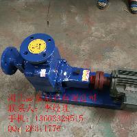 耐腐蚀泵 ZW100-100-20自吸排污泵厂家
