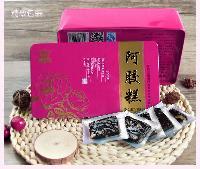 东阿县健民阿胶系列产品有限公司玫瑰型阿胶糕