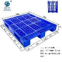 水果冷库专用1210川字塑料叉车板厂家