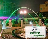 常工波光喷泉