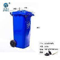 100L环卫专用塑胶垃圾桶 厂家直销