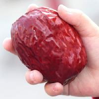 新疆和田大枣特级六星红枣等骏枣子特产精品红枣可枣夹核桃
