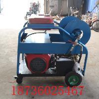 下水道清洗机 50流量180压力 高压清洗机 广源厂家进口高压泵