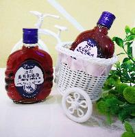 伊春特产隆广川蓝莓果酒 新野生蓝莓健康酒125ml