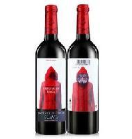 进口红酒招商、西班牙红酒批发、小红帽干红葡萄酒价格