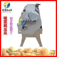 台湾进口球根茎切菜机 商用多功能切菜机切全自动切菜机