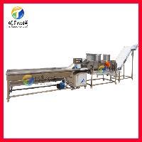 厂家供应果蔬清洗流水线 净菜加工设备 果蔬配送中心设备