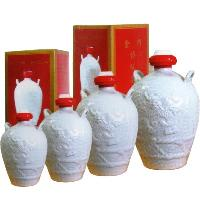 2斤白色瓶小白龙台湾金门高粱酒