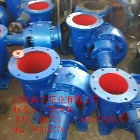 200HW-12卧式混流泵 大流量工业供水泵