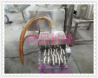SP—4天妇罗鱼排成型裹粉机|食品上屑机器304材质