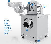 化工工业自动上料不锈钢粉碎机价格