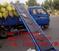 单排槽钢支架装车输送机 倾斜式圆管输送机