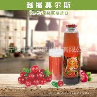 俄罗斯原装进口越橘莫尔斯果汁食品饮料,饮