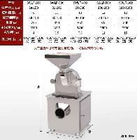 大豆蛋白膨化食品不锈钢涡轮粉碎机