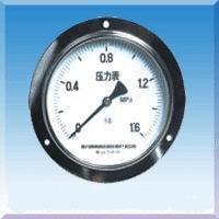 轴向带边压力表型号规格,量程,精度,安装螺纹