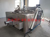 肉条电加热油炸机 速冻肉条油炸设备HL-1500
