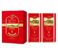西班牙原装进口橄榄油品牌橄倍尔价格简装礼盒1L*2