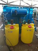 每天处理100吨污水的气浮机