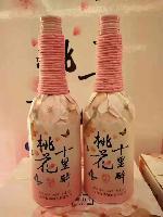 上海桃花醉专卖、果酒价格、桃花十里醉批发价