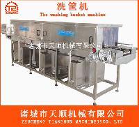 专用清洗塑料筐,周转筐清洗机械设备天顺机械专业生产厂家