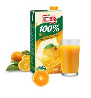 汇源100%橙汁