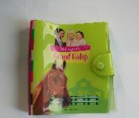 PVC书皮袋定做胶袋