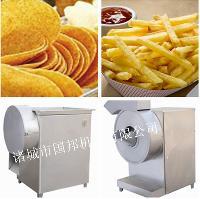 供应国邦600型土豆切条机快速均匀大小可调