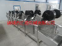 软包装清洗风干流水线 蔬菜清洗风干机厂家HL-6000